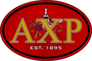 Alpha Chi Rho Color Oval Decal