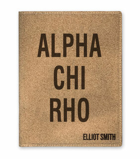 Alpha Chi Rho Cork Portfolio with Notepad
