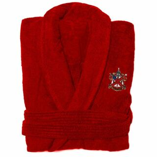 DISCOUNT-Alpha Chi Rho Crest - Shield Bathrobe