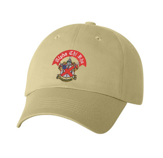DISCOUNT-Alpha Chi Rho Crest - Shield Emblem Hat