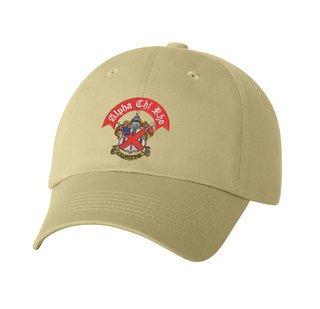 DISCOUNT-Alpha Chi Rho Crest - Shield Emblem Hat