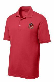 DISCOUNT-Alpha Chi Rho Crest - Shield Emblem Polo