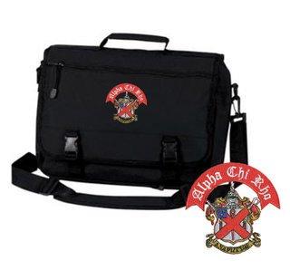 Alpha Chi Rho Crest Greek Expandable Briefcase