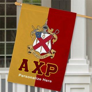 Alpha Chi Rho Crest House Flag