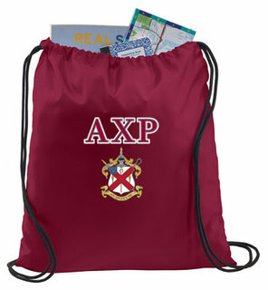 Alpha Chi Rho Crest - Shield Cinch Sack