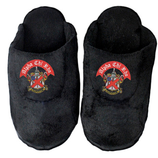 DISCOUNT-Alpha Chi Rho Crest - Shield Slippers