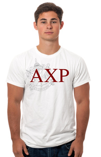Alpha Chi Rho Crest - Shield Tee