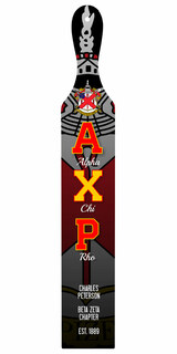 Alpha Chi Rho Custom Full Color Paddle