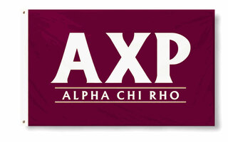 Alpha Chi Rho Custom Line Flag