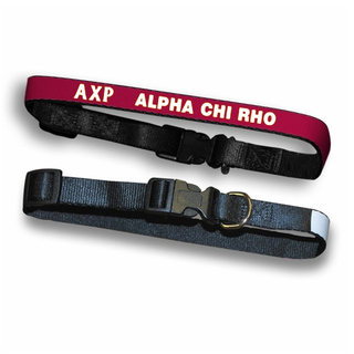 Alpha Chi Rho Dog Collar