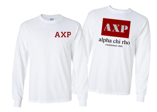 Alpha Chi Rho Flag Long Sleeve T-shirt