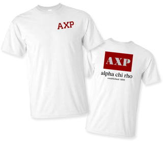 Alpha Chi Rho Flag T-Shirt