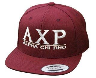 Alpha Chi Rho Flatbill Snapback Hats Original
