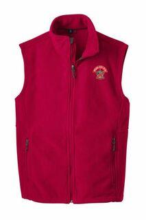 Alpha Chi Rho Fleece Crest - Shield Vest