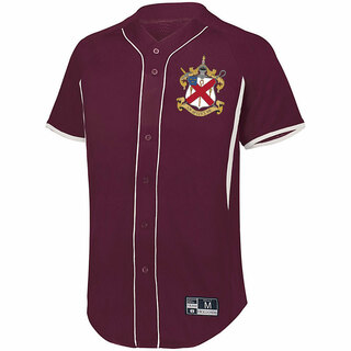 Alpha Chi Rho Game 7 Full-Button Baseball Jersey