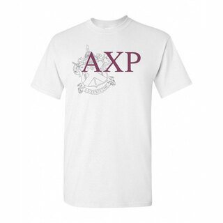 Alpha Chi Rho Greek Crest - Shield T-Shirt