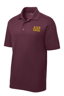 $30 World Famous Alpha Chi Rho Greek Contender Polo