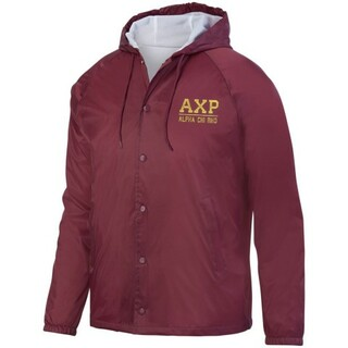 Alpha Chi Rho Hooded Coach's Jacket