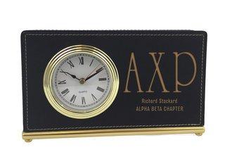 Alpha Chi Rho Horizontal Desk Clock