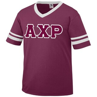 DISCOUNT-Alpha Chi Rho Jersey With Custom Sleeves