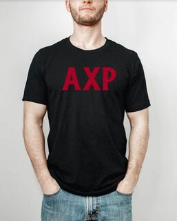 Alpha Chi Rho Letter Tee