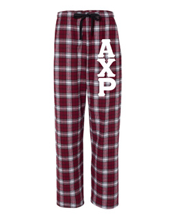 Alpha Chi Rho Pajamas Flannel Pant