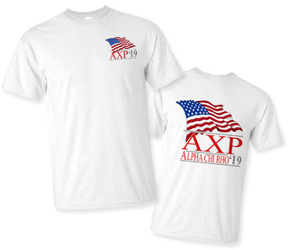 Alpha Chi Rho Patriot Limited Edition Tee- $15!