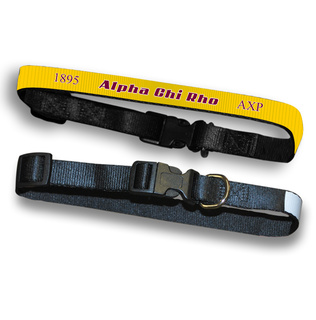 Alpha Chi Rho Pet Collar