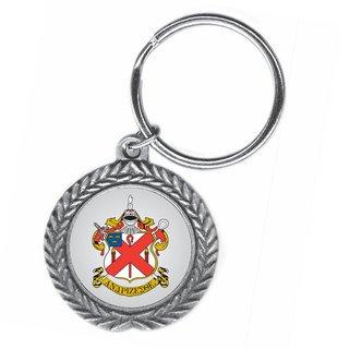 Alpha Chi Rho Pewter Key Ring