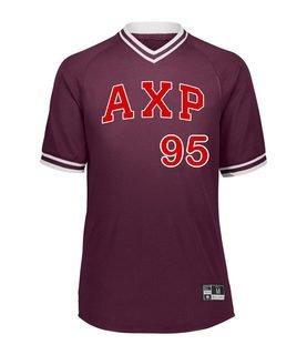 Alpha Chi Rho Retro V-Neck Baseball Jersey