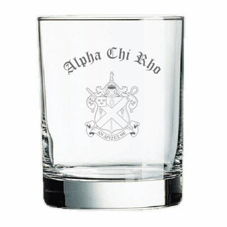 Alpha Chi Rho Old Style Glass