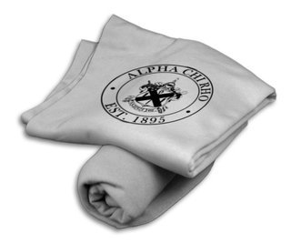 Alpha Chi Rho Sweatshirt Blanket