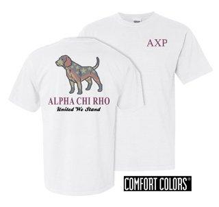 Alpha Chi Rho United We Stand Comfort Colors T-Shirt