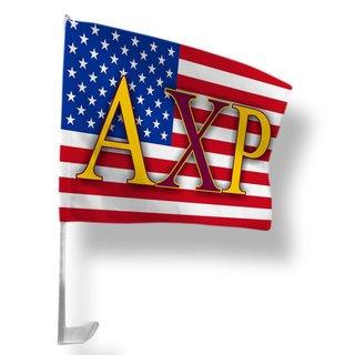 Alpha Chi Rho USA Car Flag