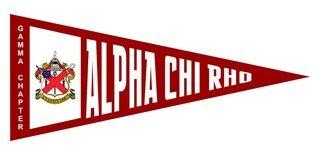 Alpha Chi Rho Wall Pennants