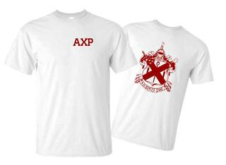 Alpha Chi Rho World Famous Crest - Shield Tee