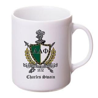 Alpha Delta Phi Crest - Shield Coffee Mug