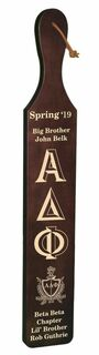 Alpha Delta Phi Deluxe Paddle