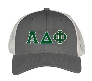 Alpha Delta Phi Double Greek Trucker Cap