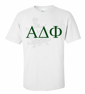 Alpha Delta Phi Greek Crest - Shield T-Shirt