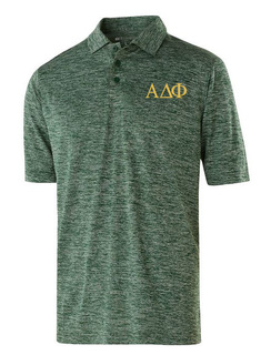 Alpha Delta Phi Small Greek Letter Electrify Polo