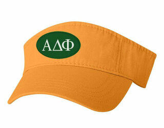 Alpha Delta Phi Greek Oval Heavy Visor