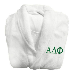 Alpha Delta Phi Lettered Bathrobe