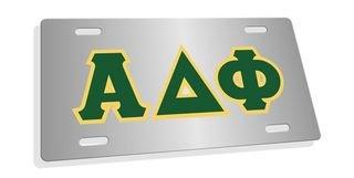 Alpha Delta Phi Lettered License Cover
