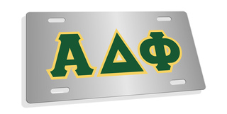 Alpha Delta Phi Lettered License Cover