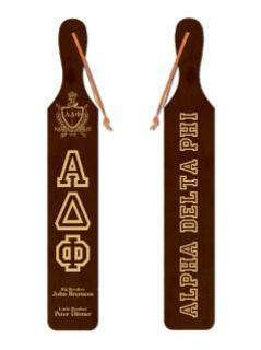 Alpha Delta Phi Old School Wood Greek Paddle