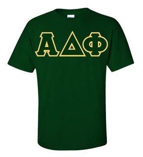 Alpha Delta Phi Sewn Lettered T-Shirt