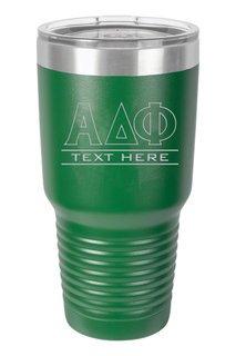 Alpha Delta Phi Vacuum Insulated Tumbler