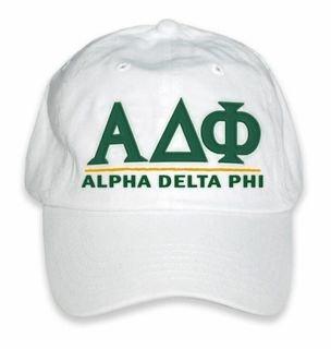 Alpha Delta Phi World Famous Line Hat
