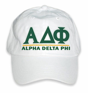 Alpha Delta Phi World Famous Line Hat